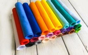 Фетр, фоамиран, фурнитура, ткани.