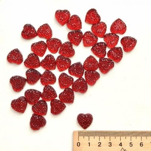 Серединка Сердце 1,6 см (5шт)