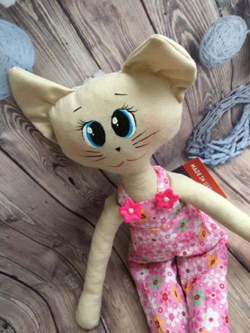 Кошка Стиляга Розовый