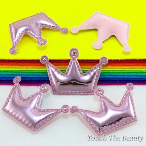 Патч Корона глянец Розовая 5,5*3,7см (1шт)