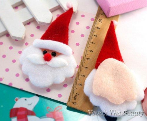 """Новогодний декор 10*5,5см """"Дед Мороз"""" (1шт)"""