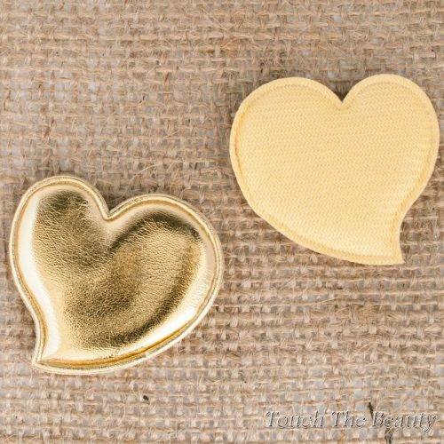 Патч Сердце Золотое 4,6см (1шт)
