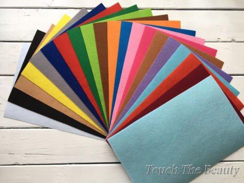 Набор цветного фетра touchthebeauty