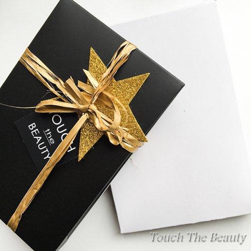 """Коробка """"Подарочная""""  10*15*3 см, черная"""