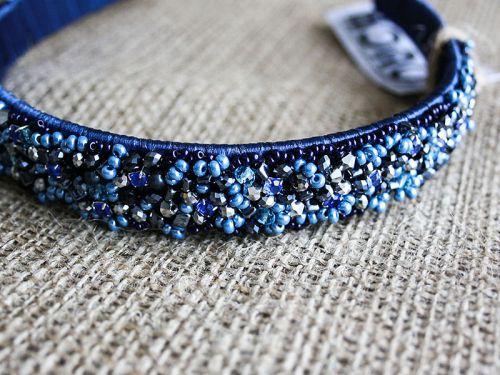 """Ободок для волос """"Blue dreams"""""""
