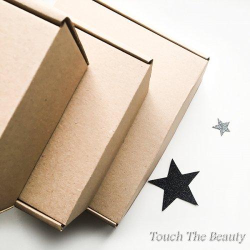 Коробка самосборная, крафт 22*20*7 см