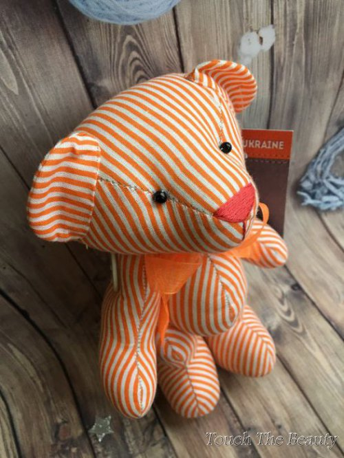 Медвежонок Оранж (высота 20 см)