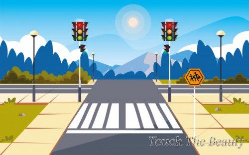 №361 Перекресток на дороге