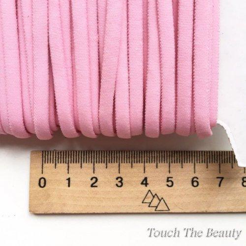 Резинка узкая для повязок на голову (бейка-шнур) 0,5см (1м)