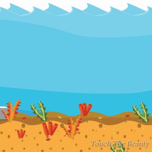 фон для развивающей книжки Морской