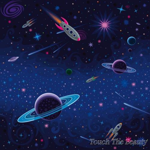 фон для развивающей книжки Космос