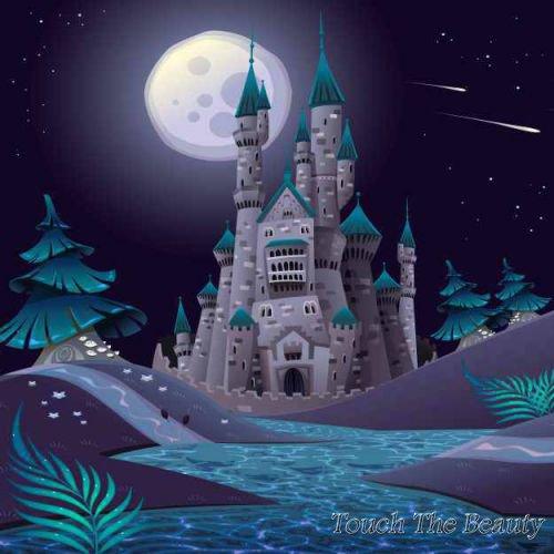 фон для развивающей книжки Ночной замок