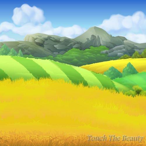 фон для развивающей книжки Пшеница