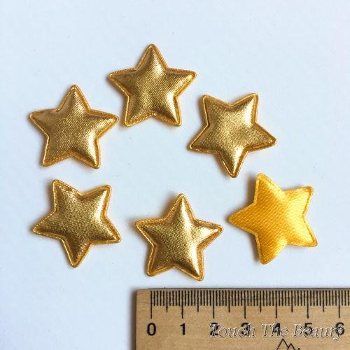 Патч Звезда Золото 30*28мм (5шт)