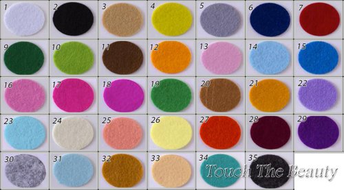 Набор мягкого фетра 29 цветов + набор жесткого 30 цветов (20*30 см)