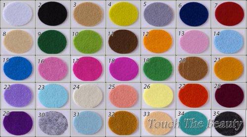 Набор цветного фетра touchthebeauty китайский купить палитра украина днепр киев на метраж палитра