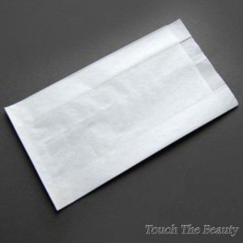 Пакет крафт белый (саше) 29*14*5 см