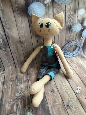 Кот Стиляга Синий