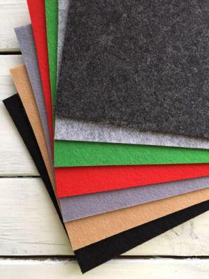 купить фетр 3мм жесткий украина киев днепр харьков листовой метраж рулонный набор толстый плотный фетр для сумок чехлов планшетов