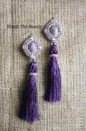 """Серьги """"Sweet violet"""""""