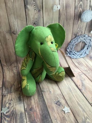 Слонёнок Гринни (высота 20 см)