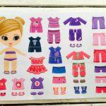 №54 Кукла с одеждой розовый
