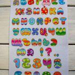 №1 Буквы и цифры