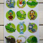 №5 Карточки животные