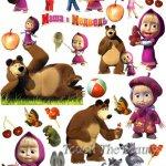 №210 Маша и медведь