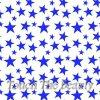 Цветные крупные звезды на белом фетре
