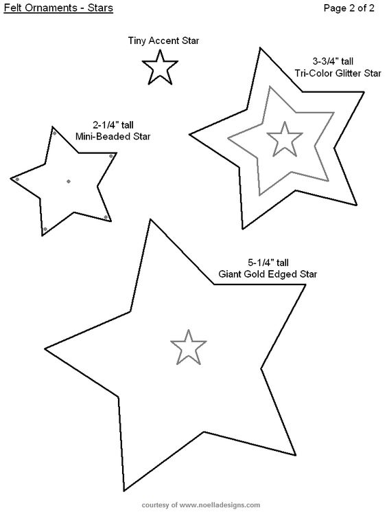 15 новогодних идей из фетра с выкройками
